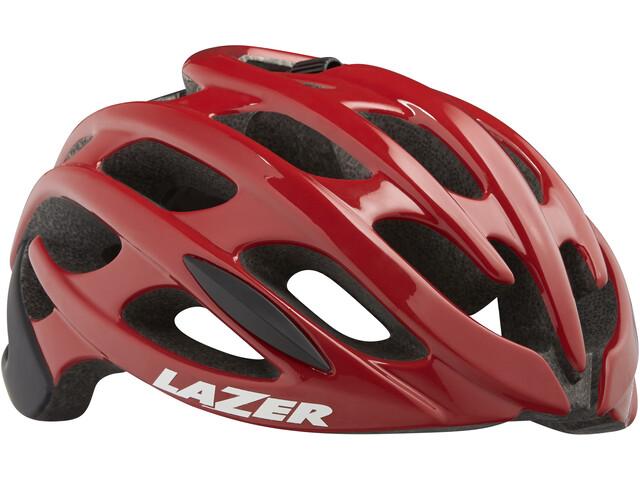 Lazer Blade+ Fietshelm rood/zwart